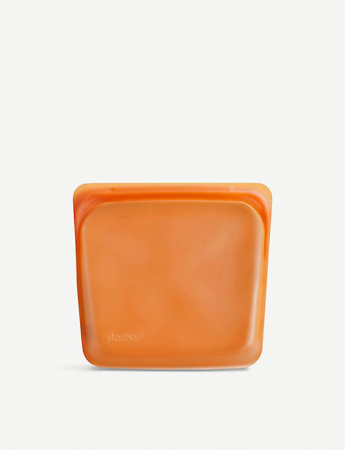 STASHER: Silicone reusable sandwich bag