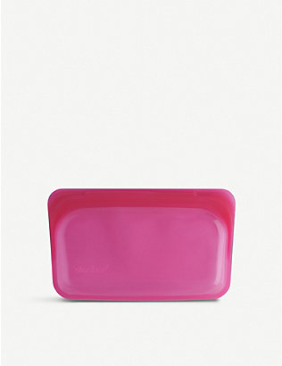 STASHER: Silicone reusable snack bag