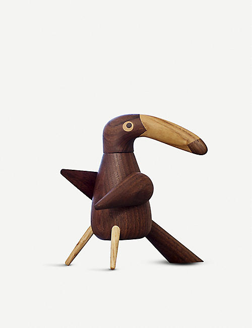 SPRING COPENHAGEN: The Pepper Bird wooden pepper mill 15cm