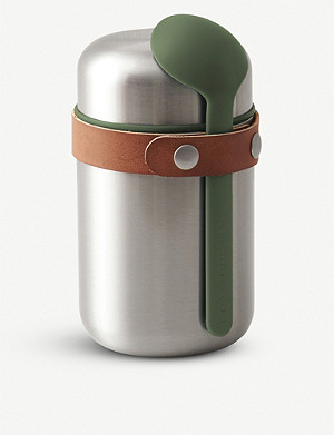 BLACK+BLUM Insulated stainless steel food flask