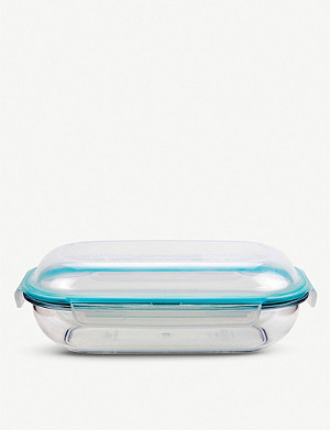 LOCK N LOCK Domed-lid round food container 1L