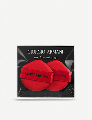 GIORGIO ARMANI My Armani To Go cushion compact sponge duo