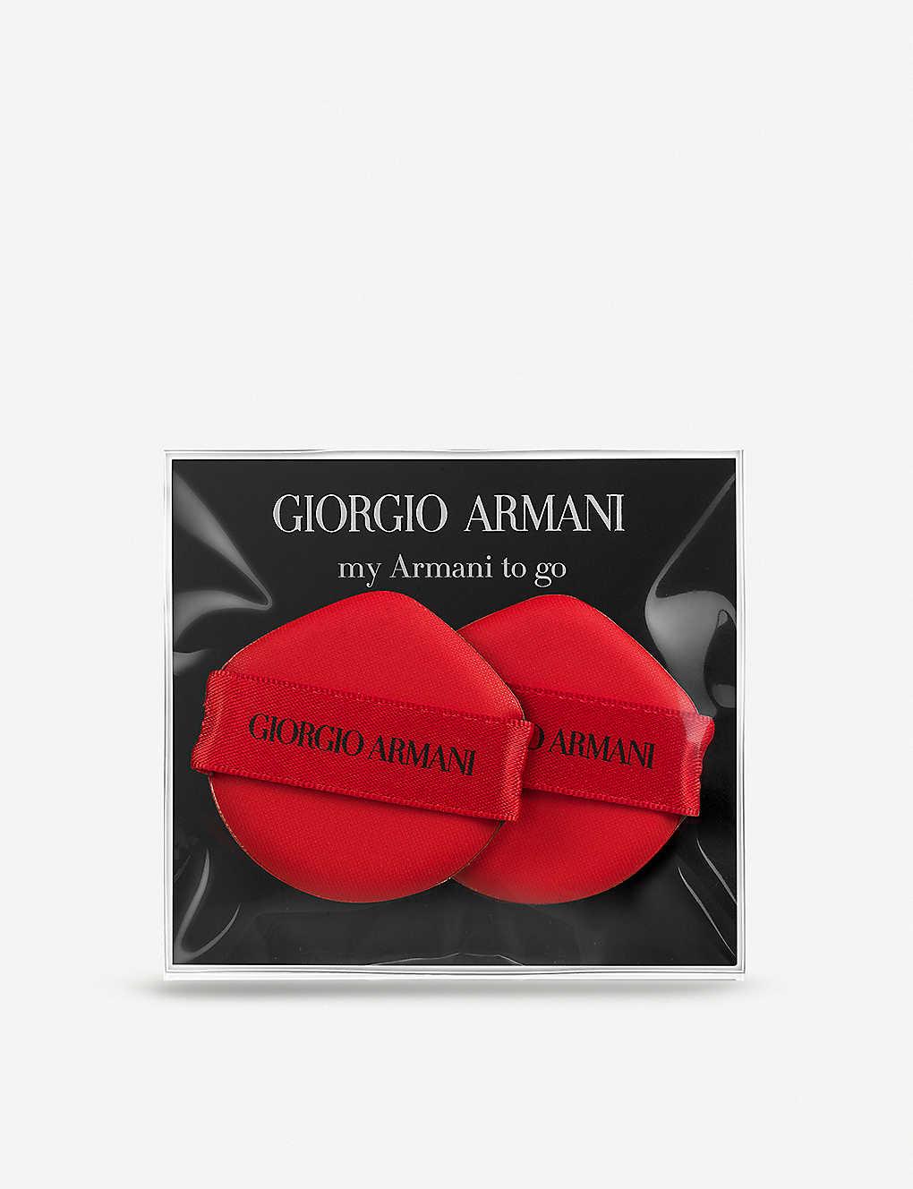 My Armani To Go Cushion Compact Sponge Duo