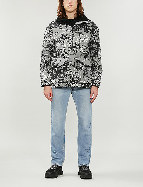 ARKAIR Double Skinny camouflage-print cotton jacket