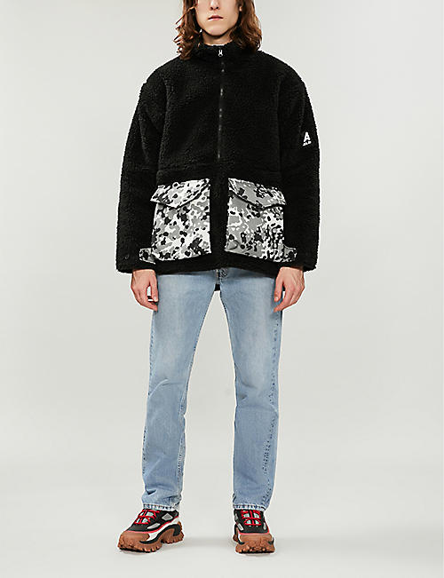 ARKAIR Furry Mammoth faux-shearling jacket