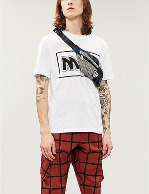 5d8440d90b MCQ ALEXANDER MCQUEEN - Hyperfloral-print cotton-jersey t-shirt ...