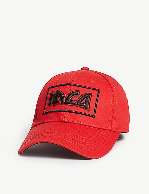 321c3a647ff MCQ ALEXANDER MCQUEEN Logo-embroidered cotton baseball cap