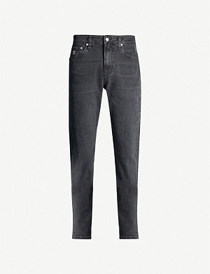 CK JEANS 058 high-rise tapered jeans