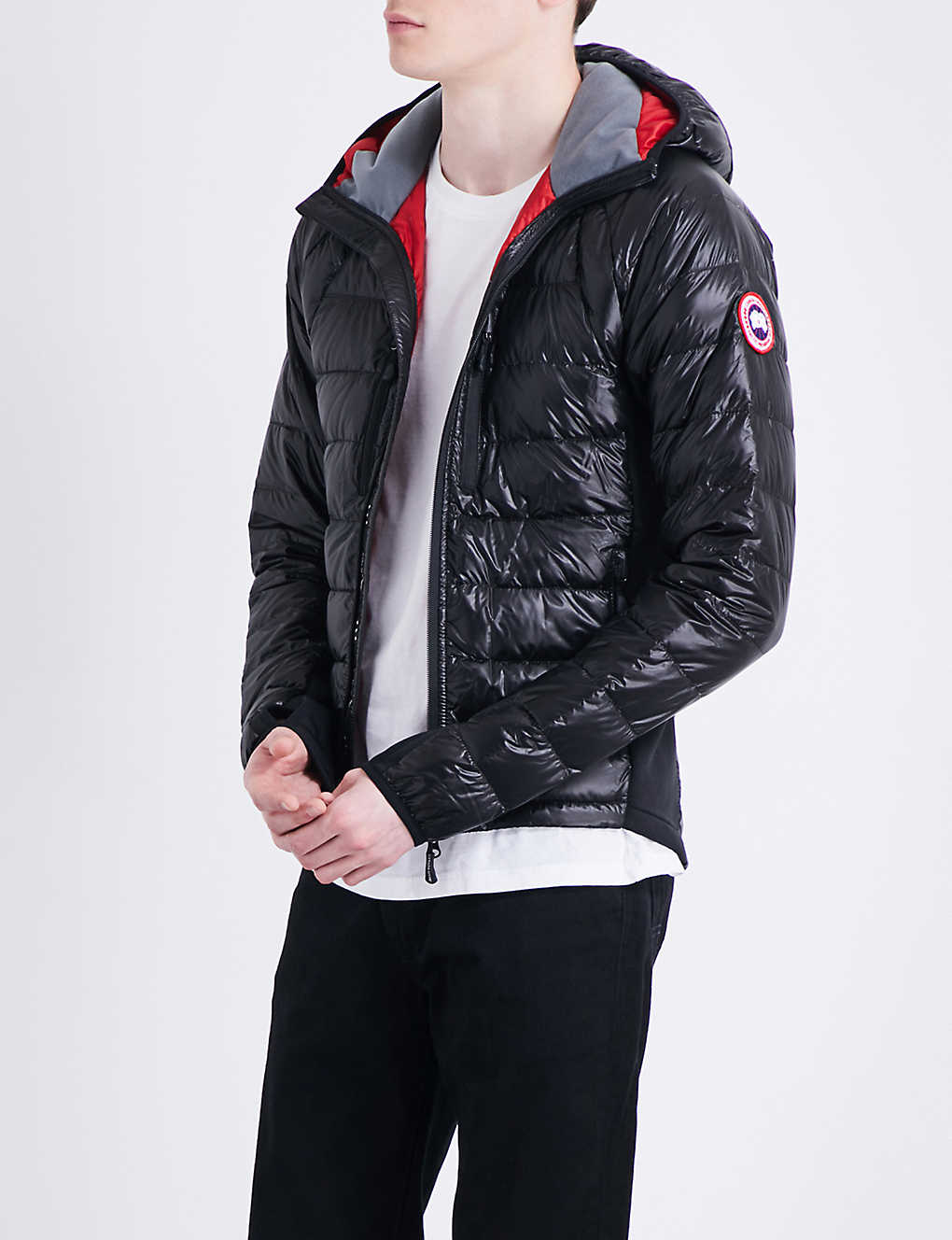 a21f2b13c95 CANADA GOOSE - Hybridge Lite quilted shell jacket | Selfridges.com