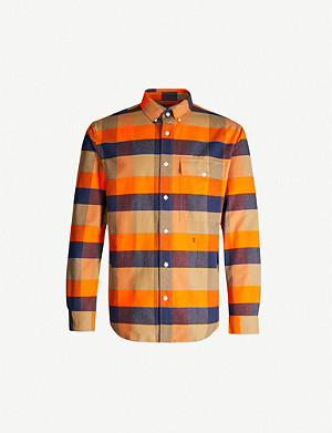 CLOSED Checked regular-fit cotton shirt