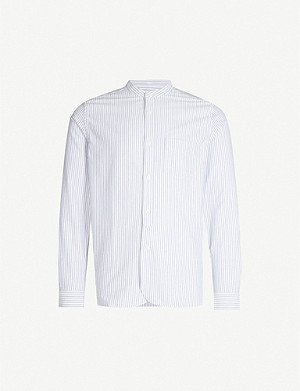CLOSED Striped regular-fit cotton shirt