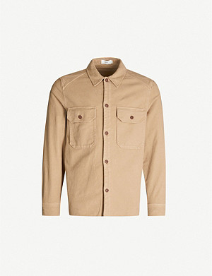 CLOSED Patch-pocket stretch-cotton overshirt