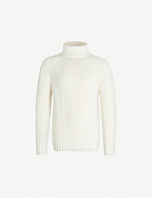 CLOSED Turtleneck regular-fit knitted jumper