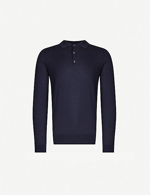 CLOSED Buttoned wool jumper