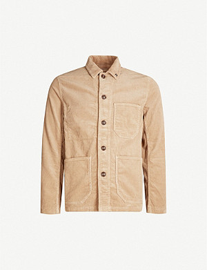 CLOSED Relaxed-fit corduroy overshirt