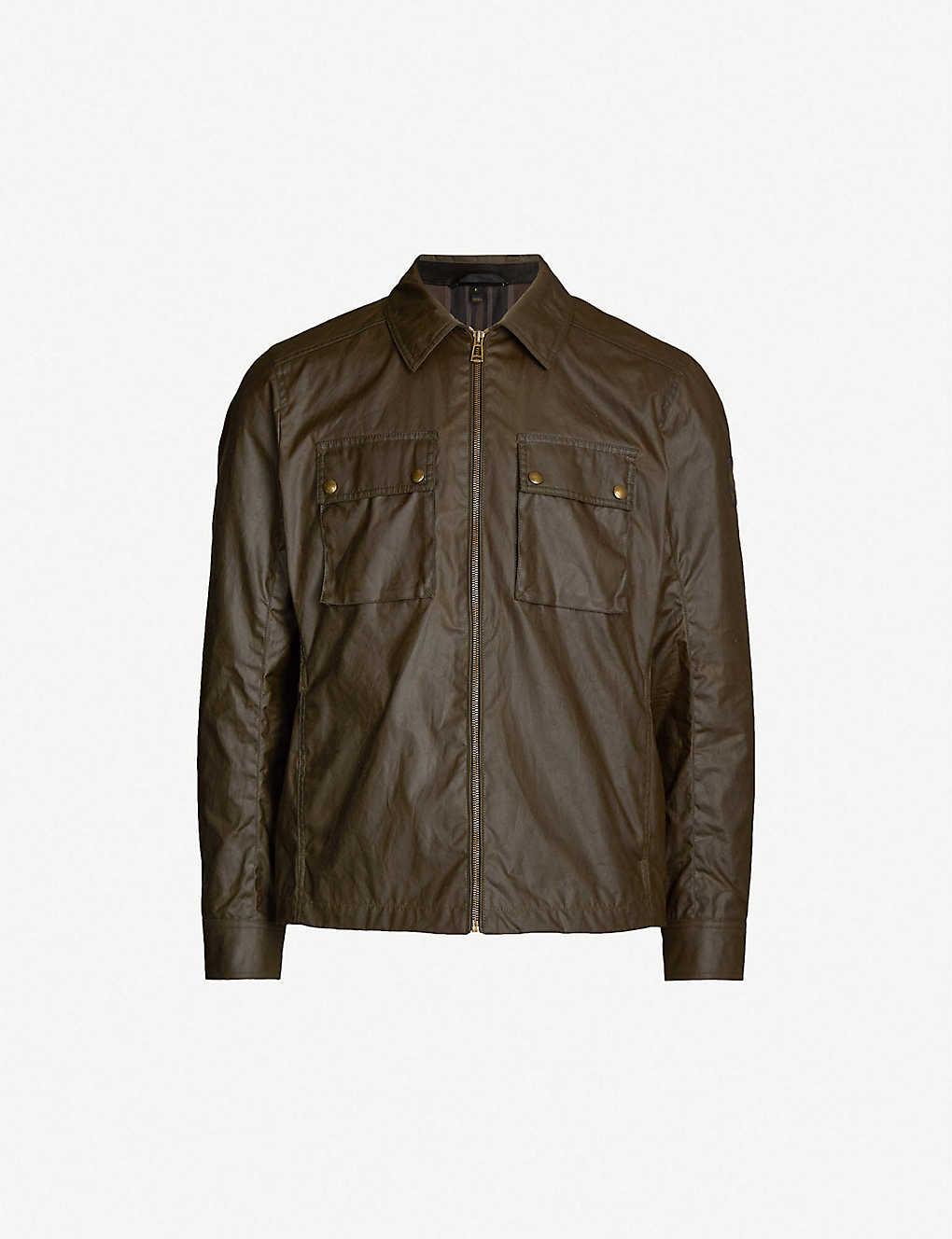 48b34edcb4e BELSTAFF - Dunstall waxed cotton jacket | Selfridges.com