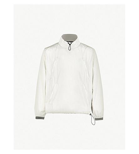 MKI MIYUKI-ZOKU Crinkled shell track jacket (Grey+2