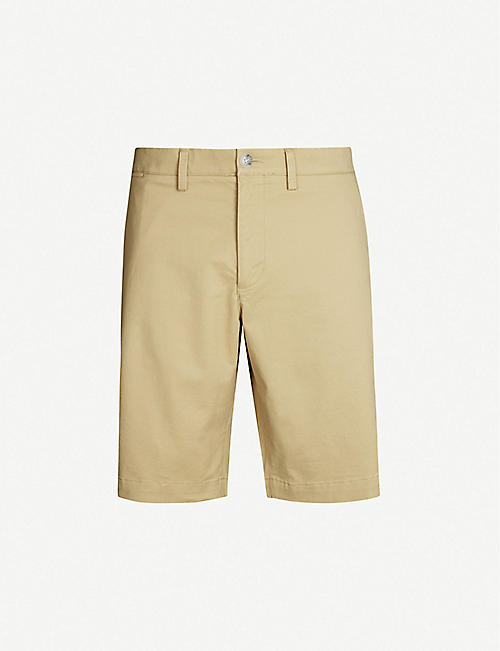 8822bd46e6ab LACOSTE Regular-fit cotton-twill shorts