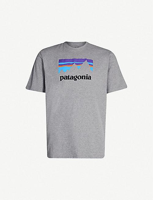 dbd267053a2 PATAGONIA Responsibili-tee logo-print recycled cotton-blend T-shirt