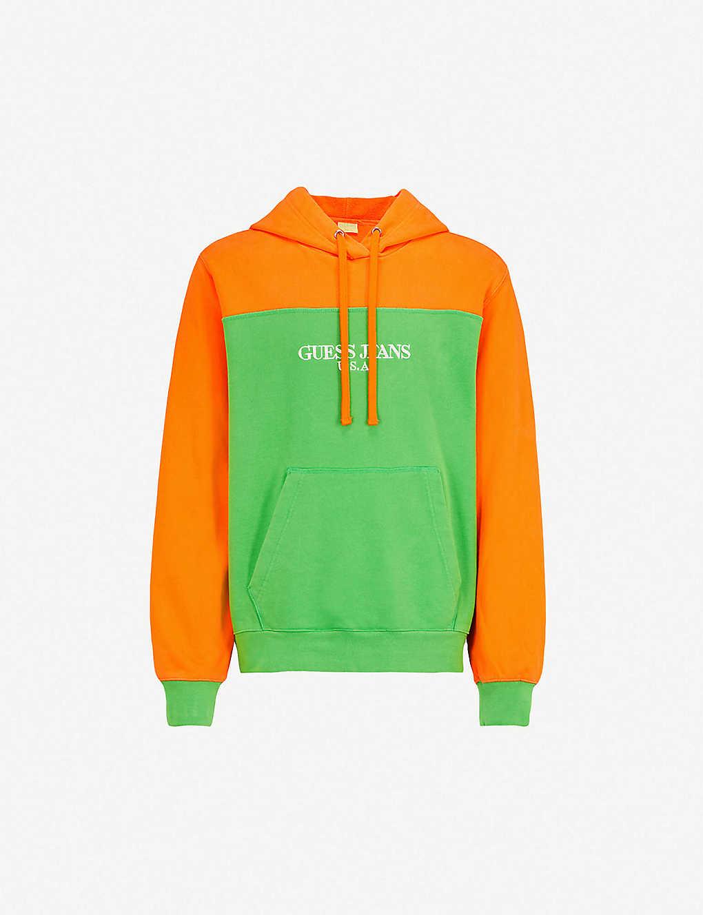 2c270441 ... Farmers Market colour-blocked cotton-jersey sweatshirt zoom ...