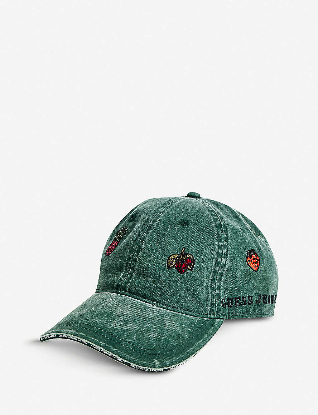 ee6bf323 GUESS JEANS USA - Farmers Market embroidered cotton baseball cap ...