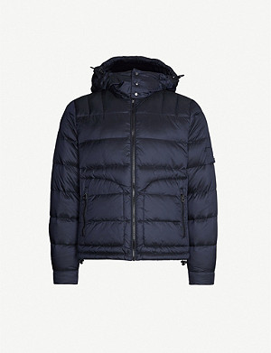 49 WINTERS Tonal Down padded shell-jacket