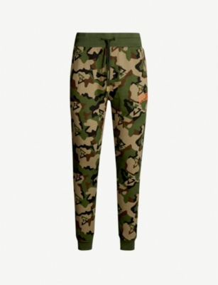 BEAST MODE Camouflage-print cotton-blend jogging bottoms