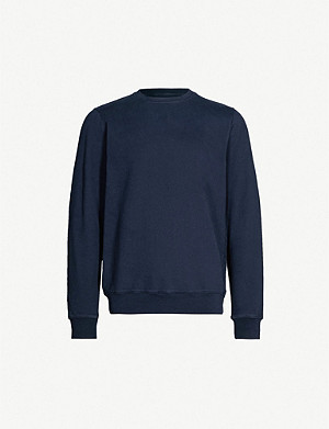 COLOURFUL STANDARD Crewneck organic cotton-jersey sweatshirt