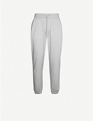 COLORFUL STANDARD: Organic cotton-jersey jogging bottoms