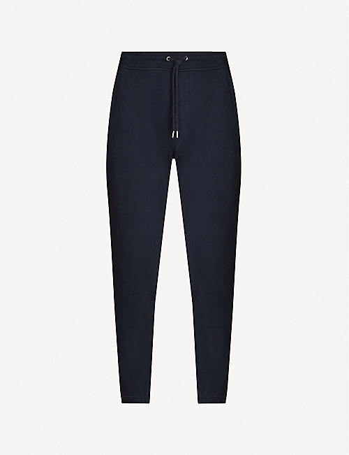 COLOURFUL STANDARD Organic cotton-jersey jogging bottoms