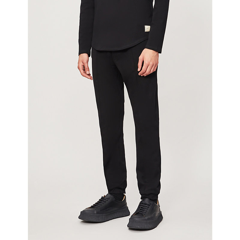 PREVU | Charles Street Jersey Cuffed Trousers | Goxip