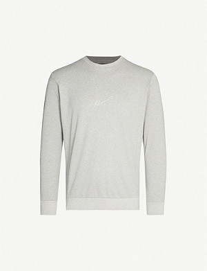 PREVU Core cotton-jersey sweatshirt