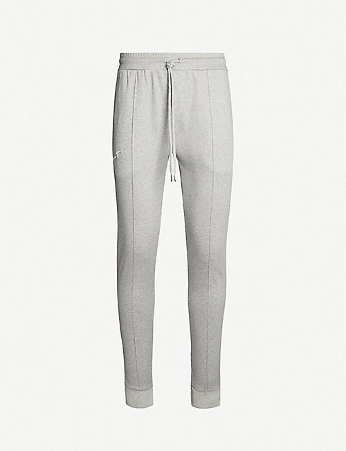 PREVU Core cotton-jersey jogging bottoms