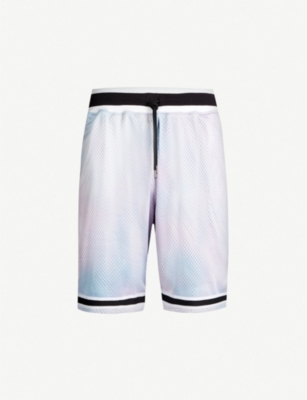JOHN ELLIOTT Drawstring mesh basketball shorts