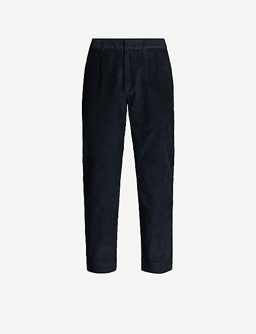 FOLK Signal cropped slim-fit corduroy trousers