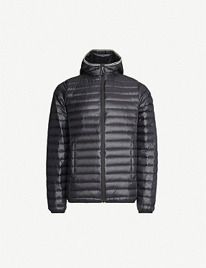 PYRENEX Bruce hooded shell jacket