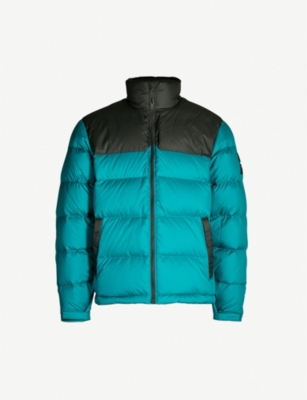 THE NORTH FACE 1992 Nuptse shell and down-blend jacket