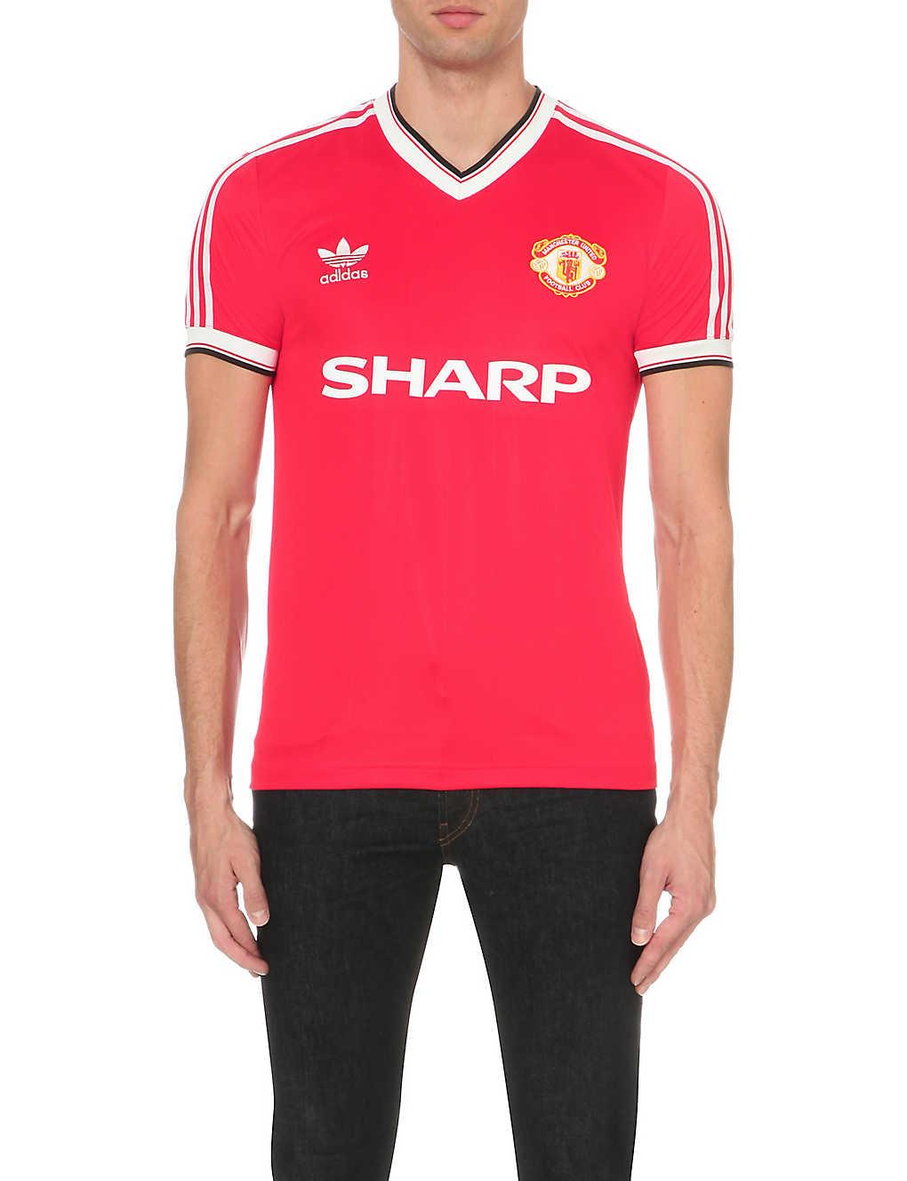 97dd206d9 ADIDAS - Manchester United 1984 jersey T-shirt