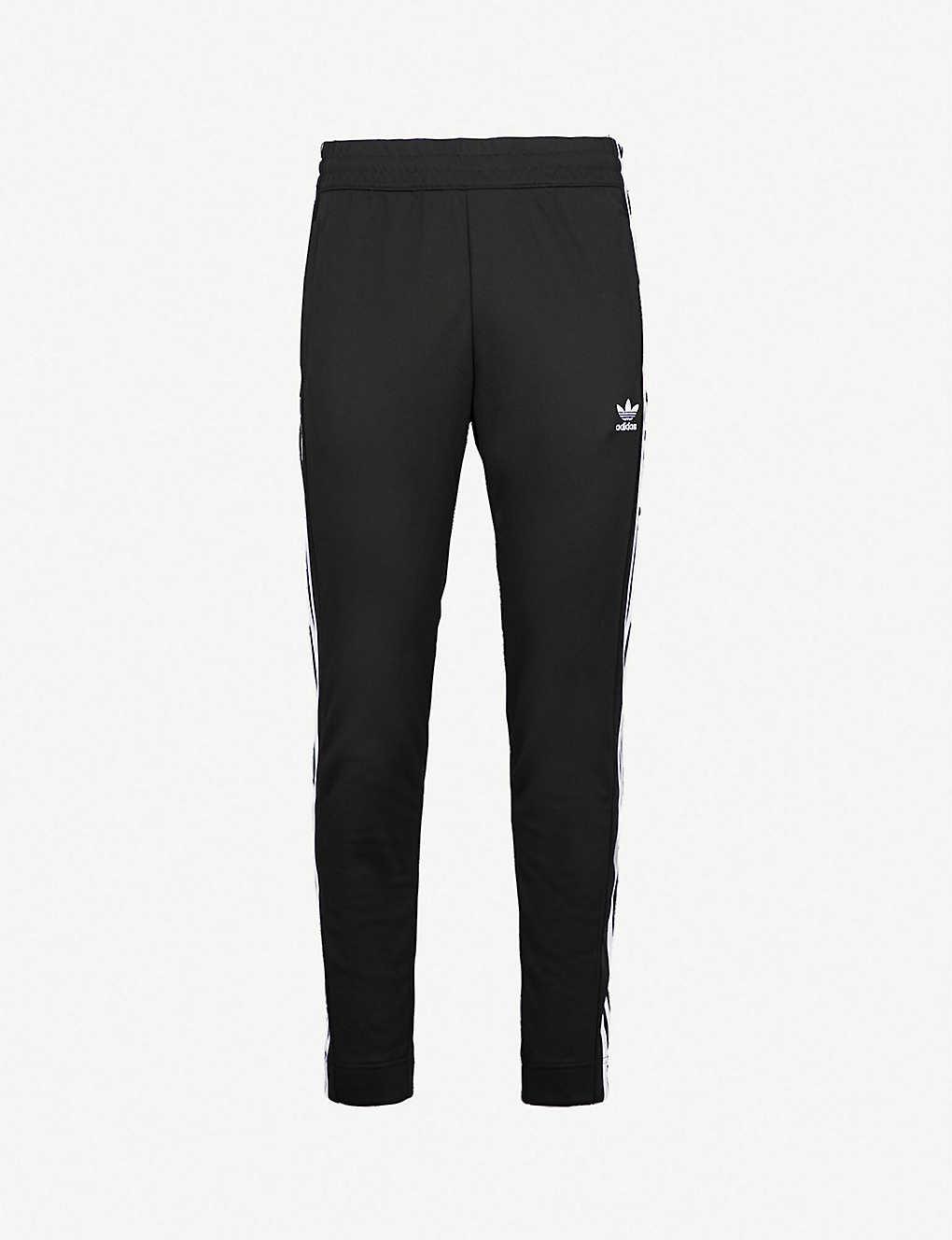 Jersey Jogging Snap Adidas Sports Bottoms Fastening MGSzqVpU
