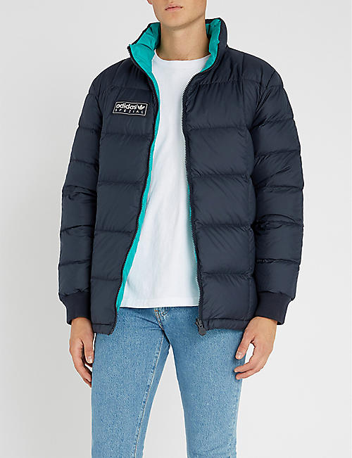 acd31bd07b06 ADIDAS - Carnforth reversible shell-down jacket