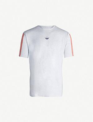 a0072e8b7 ADIDAS - Manchester United 1984 jersey T-shirt