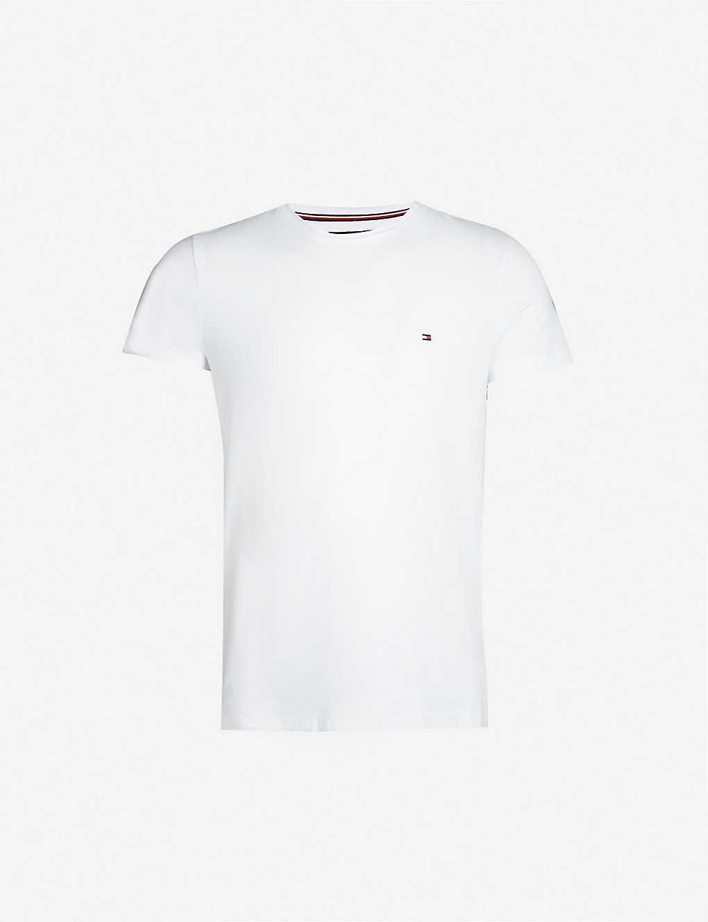7d493a7c TOMMY HILFIGER - Core Stretch stretch-cotton T-shirt | Selfridges.com