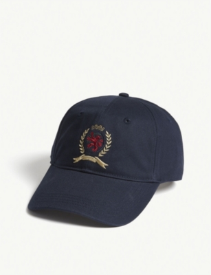 TOMMY JEANS Embroidered crest cap