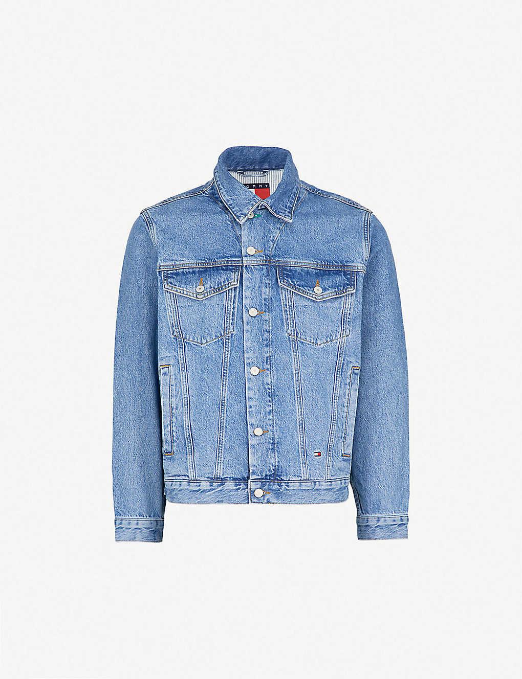efc3c8562 TOMMY JEANS - '90s vintage-wash denim jacket | Selfridges.com