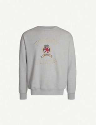 TOMMY JEANS 6.0 Crest cotton-jersey sweatshirt