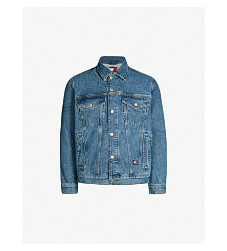f61168b3 ... 6.0 Crest denim trucker jacket (Mid+denim+blue. PreviousNext