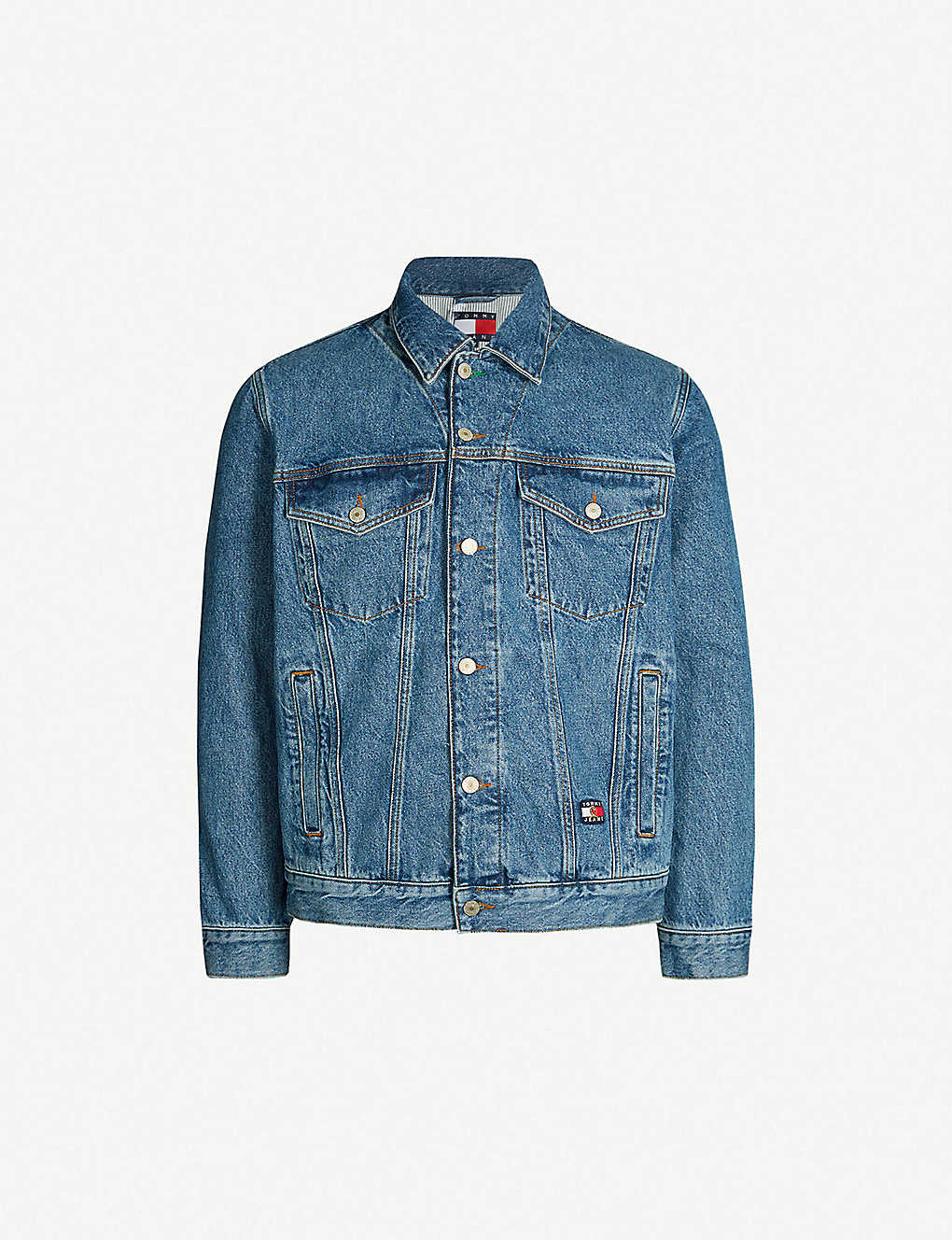 e2575a3c TOMMY JEANS - 6.0 Crest denim trucker jacket | Selfridges.comm