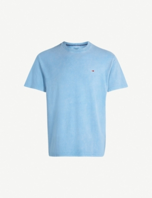 TOMMY JEANS Faded wash cotton-jersey T-shirt