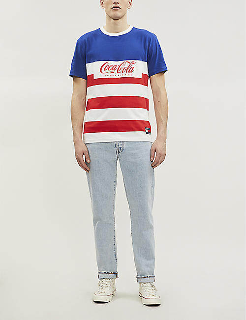 TOMMY JEANS Tommy x Coca Cola cotton-jersey T-shirt