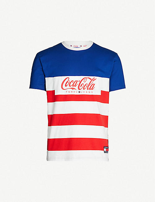3f7cfee2 TOMMY JEANS Tommy x Coca Cola cotton-jersey T-shirt